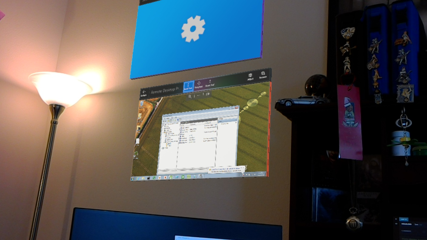 HoloLens as a Desktop Replacement – Road to MR